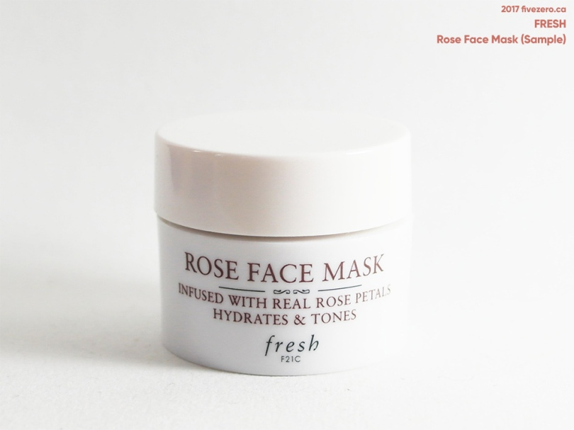 Fresh Rose Face Mask (deluxe sample)