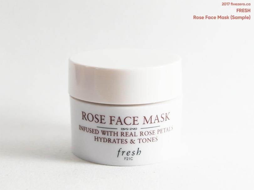 Fresh — Rose Face Mask Review – fivezero