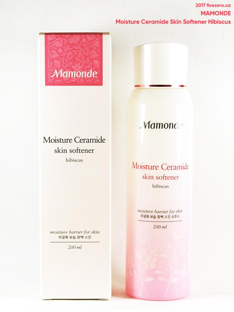 Mamonde Moisture Ceramide Skin Softener Hibiscus