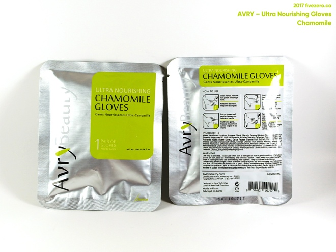 Avry Beauty by Voesh Ultra Nourishing Gloves in Chamomile