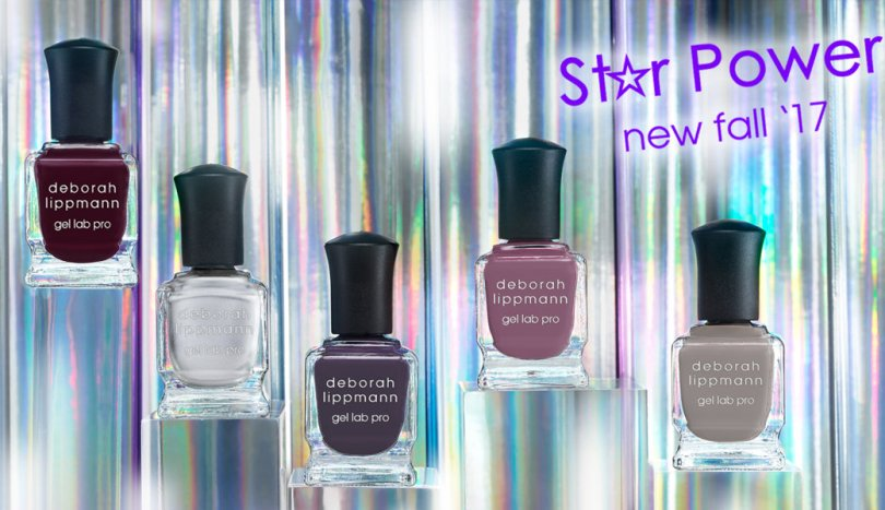 Deborah Lippmann Star Power Fall 2017 collection (Gel Lab Pro)