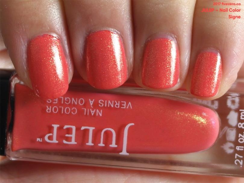 Julep — Signe (Nail Color) Swatch & Review – fivezero