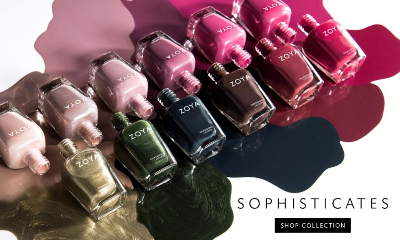 Zoya Sophisticates Fall 2017 collection