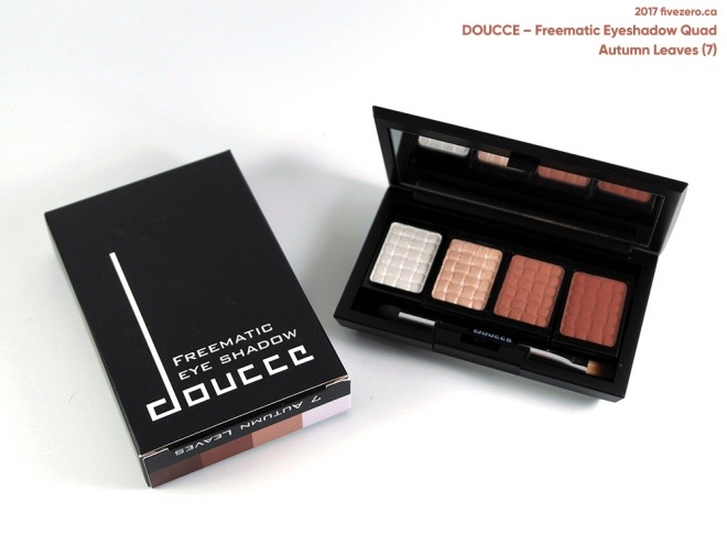 Doucce Freematic Eye Shadow Quad in Autumn Leaves (7)