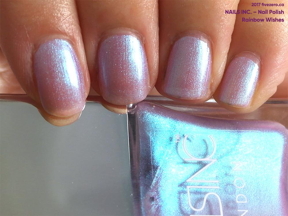 Nails Inc. — Rainbow Wishes (Sparkle Like a Unicorn Nail ...