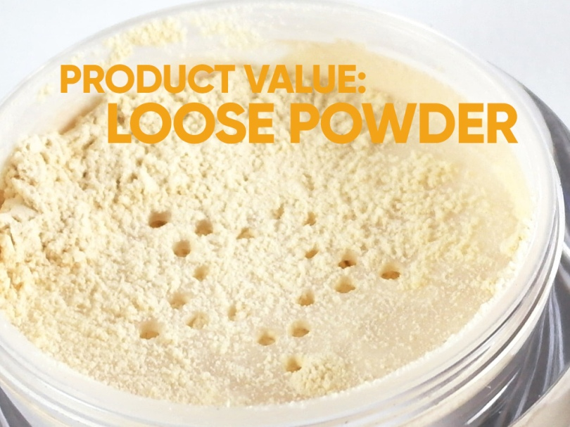 Product Value: Loose Powder