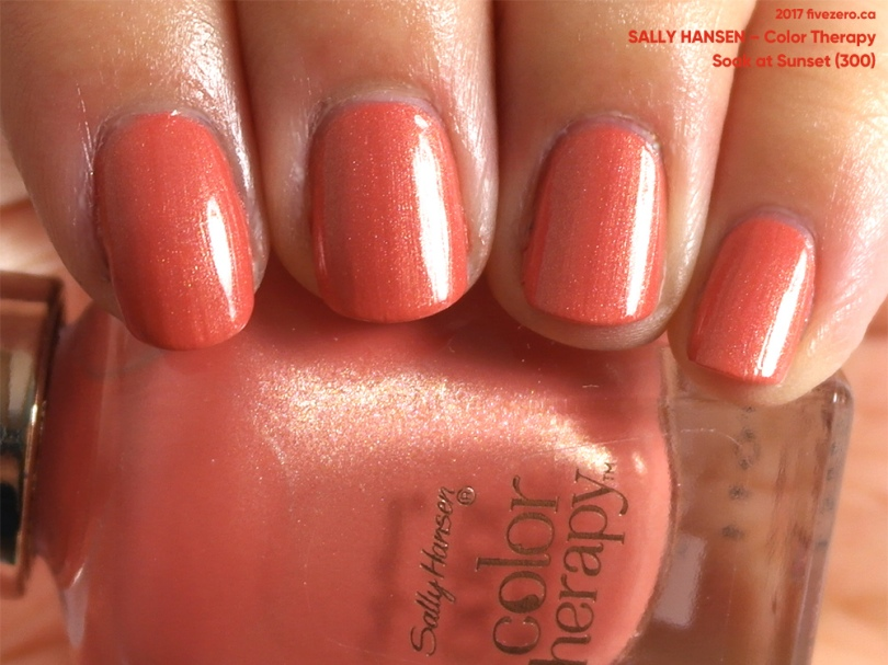 Sally Hansen Color Therapy in Soak at Sunset, swatch
