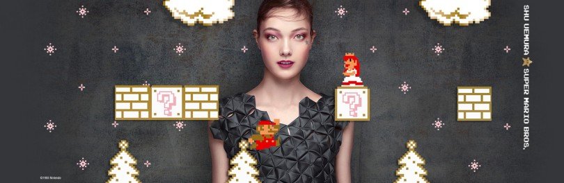 Shu Uemura × Super Mario Bros. Holiday 2017 collection