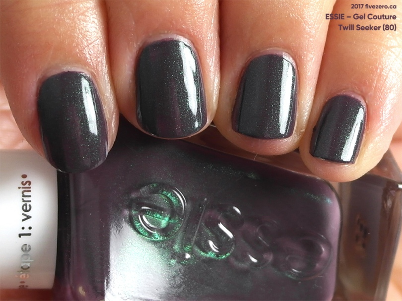 Essie Gel Couture in Twill Seeker, swatch