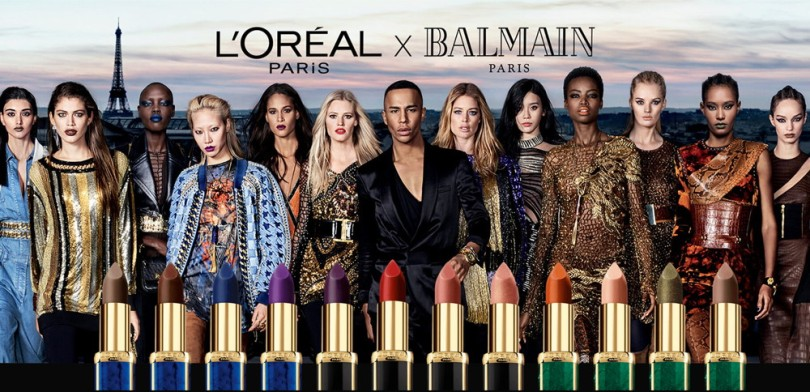 L'Oréal x Balmain Colour Riche Matte Lipstick, Winter 2017