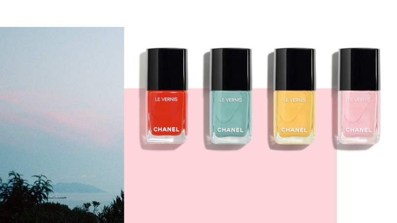 Chanel – Neapolis: New City (Spring-Summer 2018 collection) Le Vernis Longwear