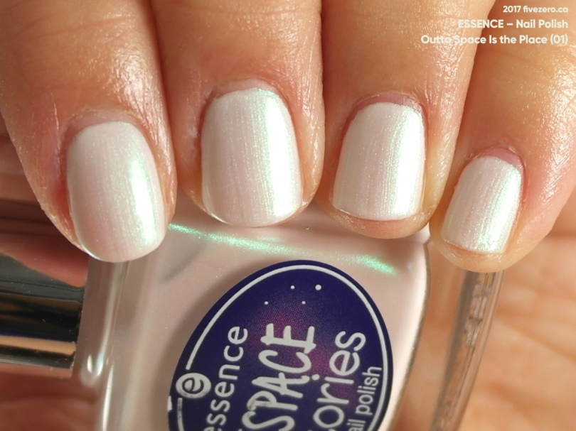 Essence Nail Polish in Outta Space Is the Place, swatch