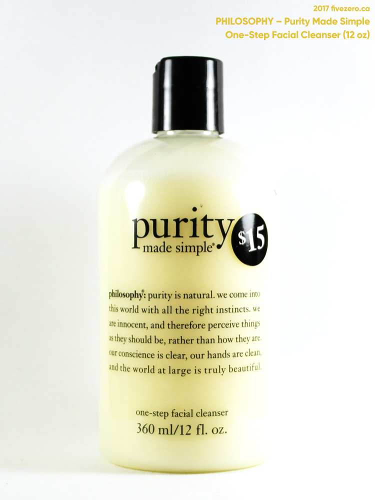 philosophy Purity Made Simple One-Step Facial Cleanser (12 oz)
