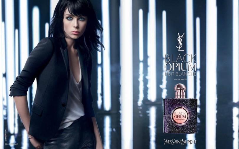 Yves Saint Laurent Black Opium Nuit Blanche ad