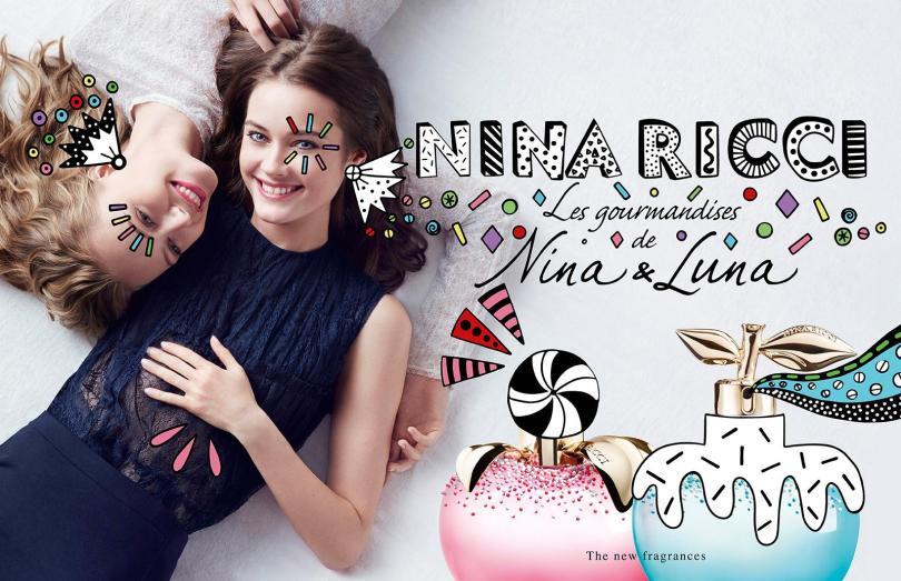 Nina Ricci Les Monstres Nina & Luna perfumes, 2018 limited edition