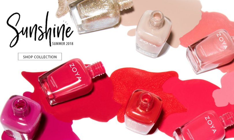 Zoya Summer 2018 collection, Sunshine