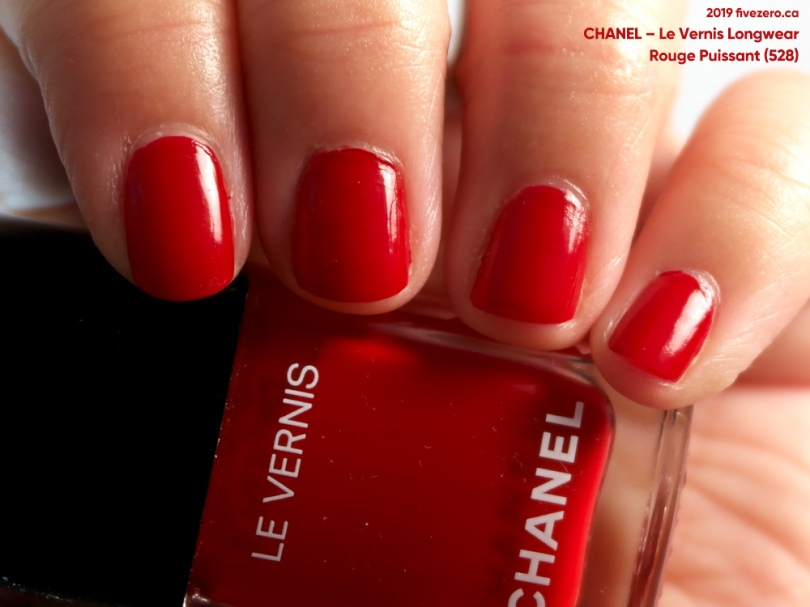 Chanel, Le Vernis Longwear in Rouge Puissant (528)